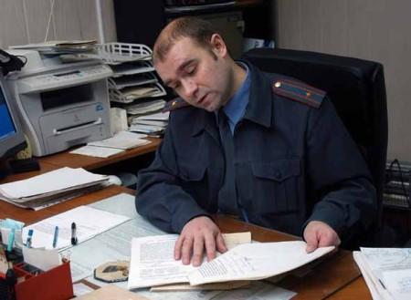 Подача заявления в милицию
