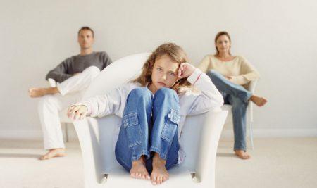 Иск об определении места жительства ребенка